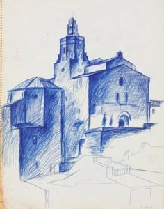 """""""Eglise de Cadaqués II"""""""