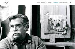 Antoni Clavé website