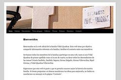 Site Família Vidal-Quadras
