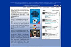 Site Alejo Vidal-Quadras Roca