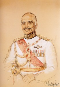 King Hussein of Jordanie
