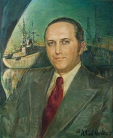 Mr. JC F. Pires oil, Rio de Janeiro, 1977