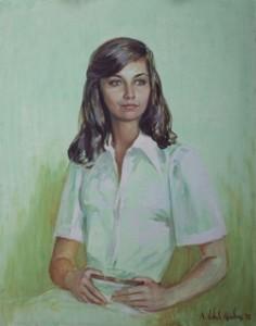 Norma F. Pires oil, Rio de Janeiro, 1975