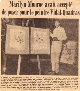 Alejo Vidal-Quadras e Marilyn Monroe