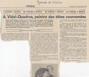 Jornal de Genève - 05/11/1976