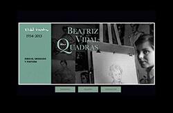 Site de Beatriz Vidal-Quadras - Miuca