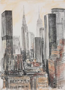 """Vue de New York"""