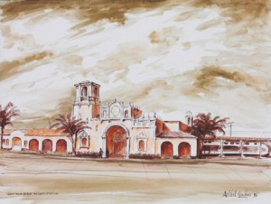 """West Palm Beach Railroad Station"""