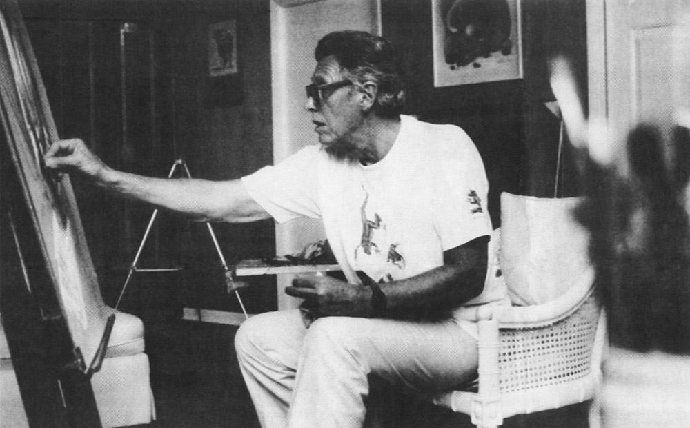 Alejo Vidal-Quadras em seu atelier