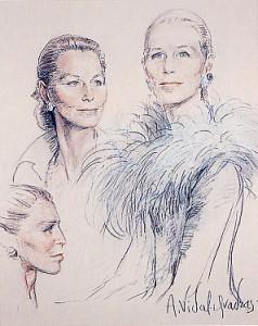 Countess Gaël d'Oncieu de Chaffardon