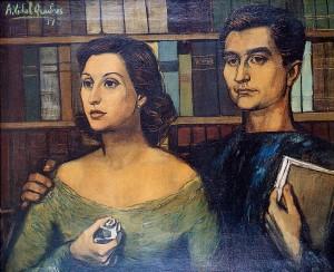 Javier Villavecchia and his wife Marta