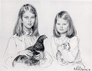 Marie and Charlotte Patervoster