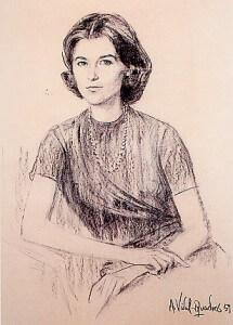 Mrs Angeles Trias de Bès de Vidal-Quadras