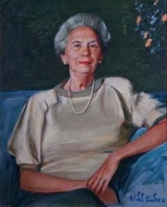 Mrs. Evangelina F. Pires oil, Rio de Janeiro 1988