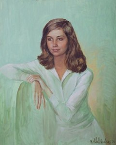 Eva F. Pires oil, Rio de Janeiro, 1975