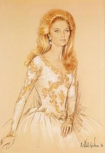 queen Noor of Jordanie
